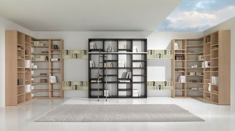 Ultra Modern Home Library Lots Of Glass And Open Space Home