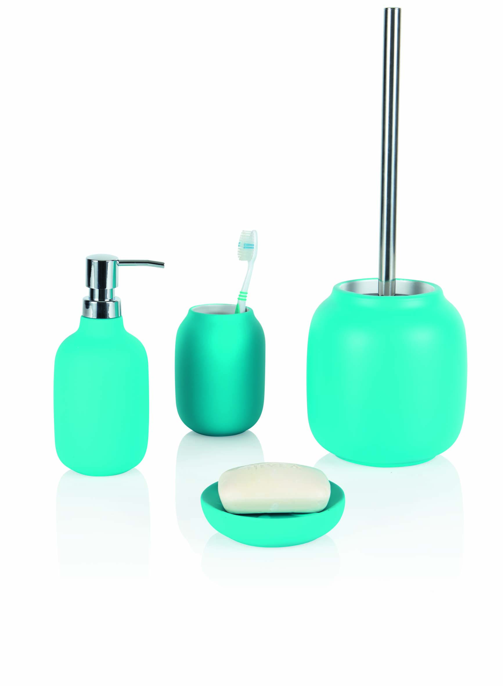 Howards Ceramic Bathroom Accessories, rubber coated, soft touch ...