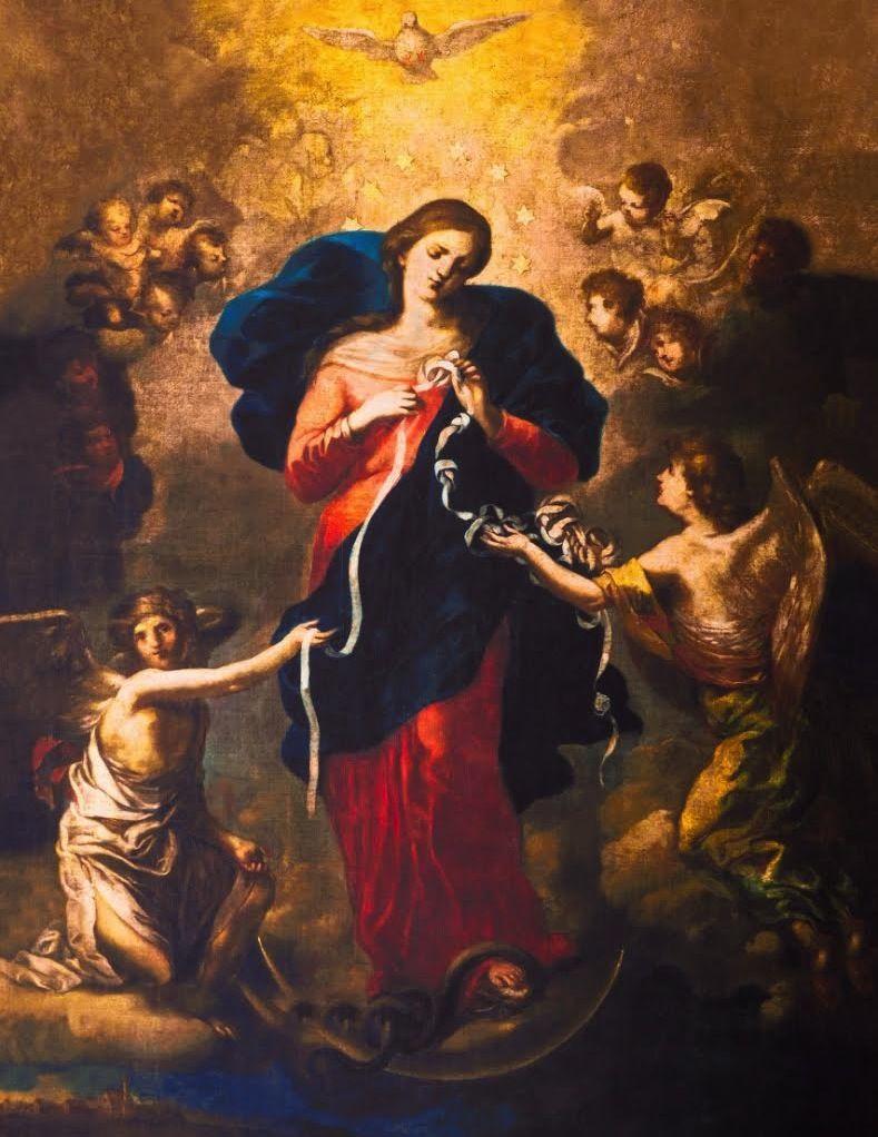 Mary, Untier of Knots Johann Georg Melchior Schmidtner | 聖母, 聖母マリア