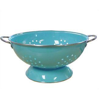 Reston Lloyd Calypso Basics 7 Quart Colander In Turquoise 30