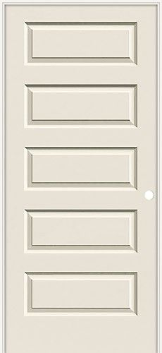This Rockport Style Door Blends The Modern 5 Panel Look With