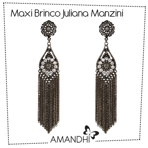 Maxi Brinco com Franjas Juliana Manzini   Amandhí   www.amandhi.com  