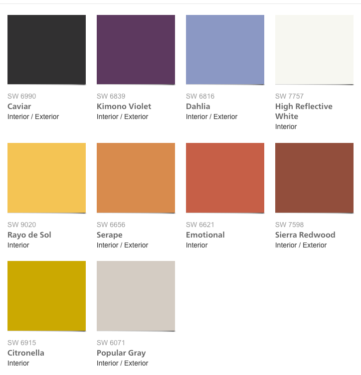 Sherwin Williams Colormix 2017 Collection Intrepid 2018 2017 Paint Colors Pinterest