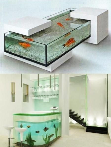 Good U201c35 Unusual Aquariums And Custom Tropical Fish Tanks For Unique Interior  Designu201d