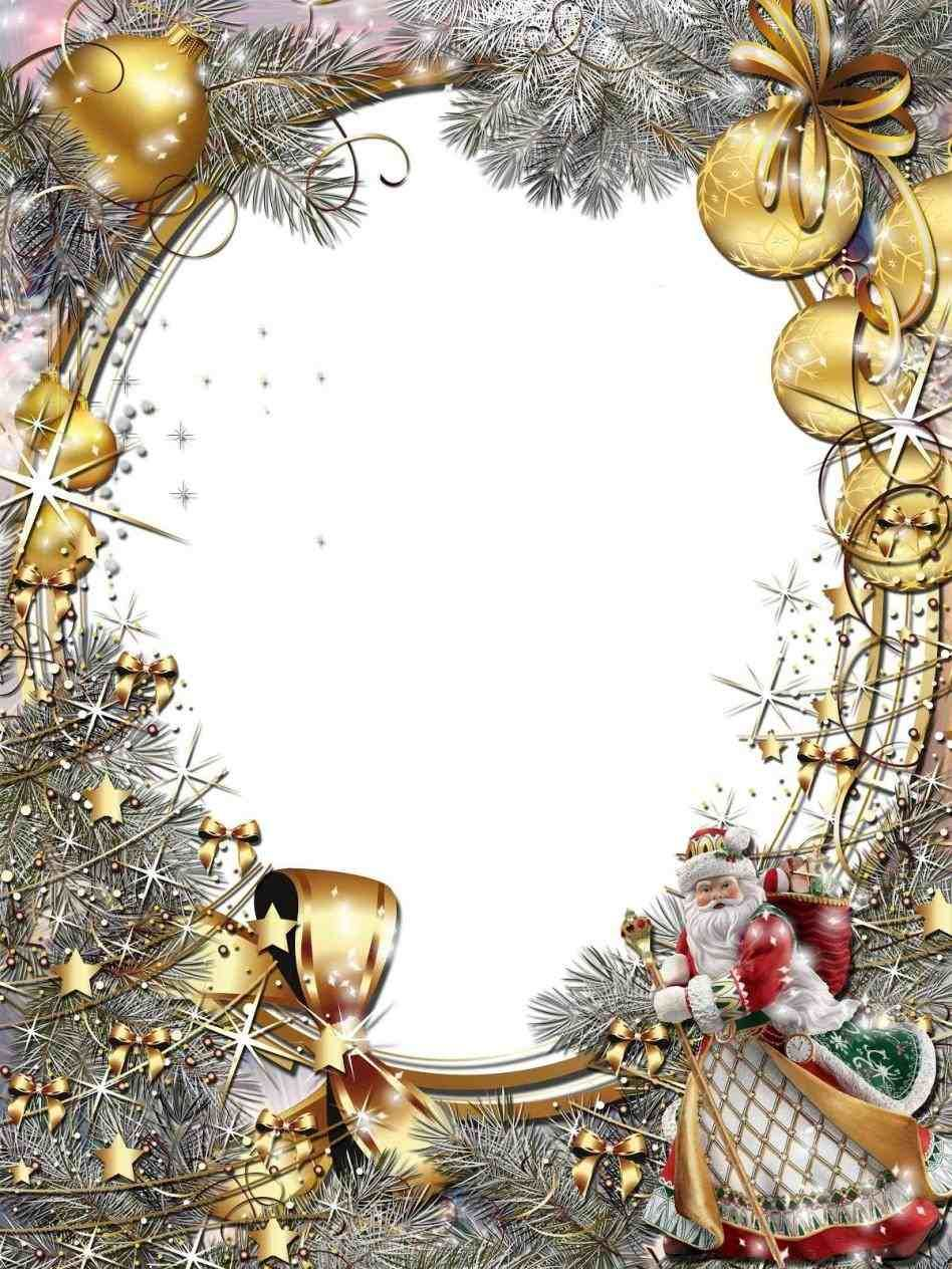 christmas silver bells border   Art   Christmas, Christmas frames, Frame