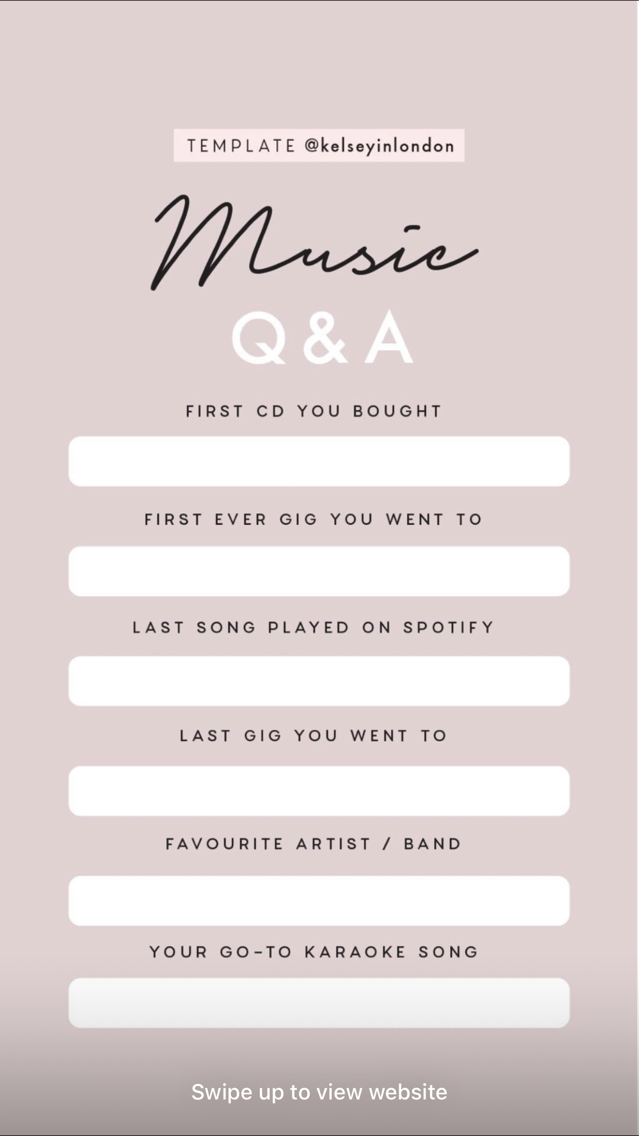 Pin By Jessica Miller On Ig Templates Instagram Story Questions Instagram Story Template Story Template