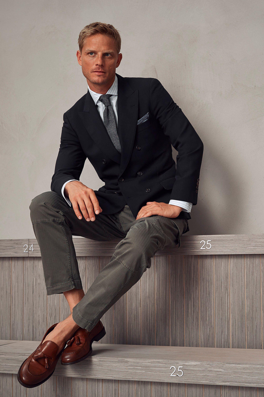 Brunello Cucinelli Spring 2018 Menswear Fashion Show