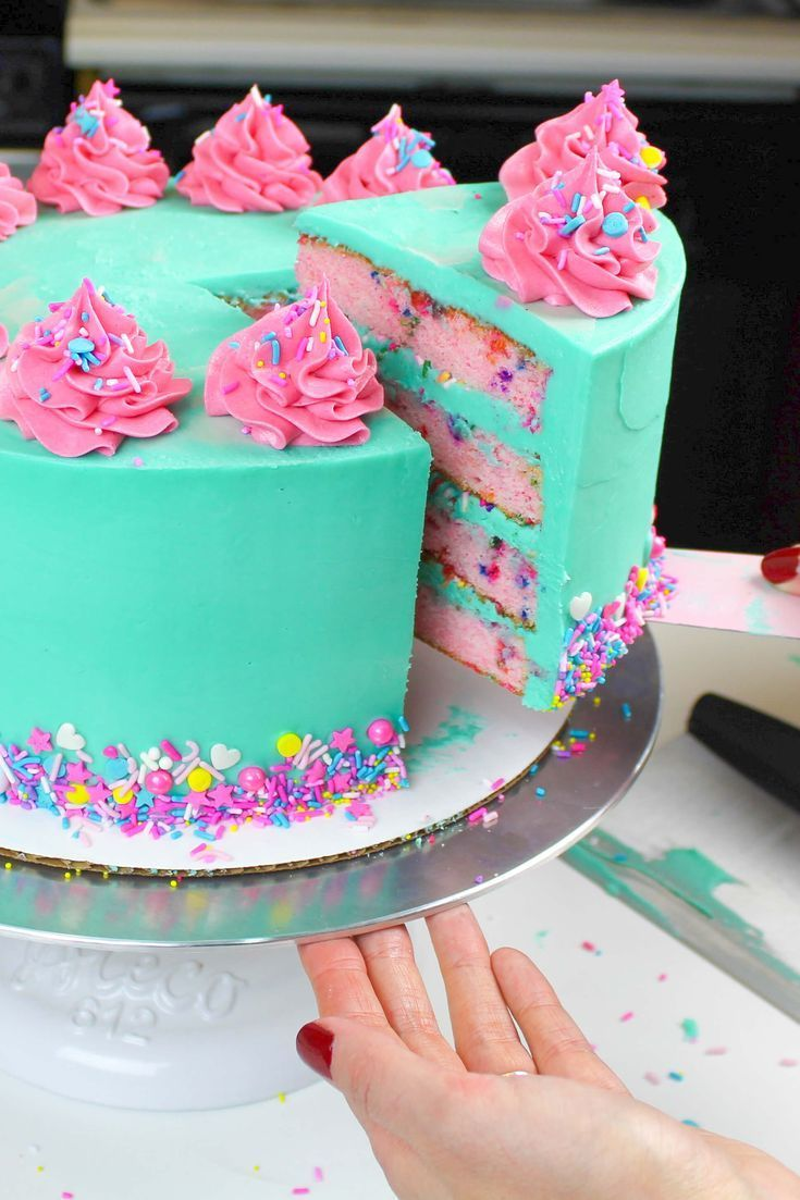 Funfetti Cake Recipe: Easy Recipe Made From Scratch - Chelsweets