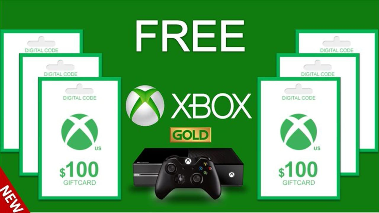 FREE Xbox live Gold - free Xbox Gift Card Codes - How To Get Free