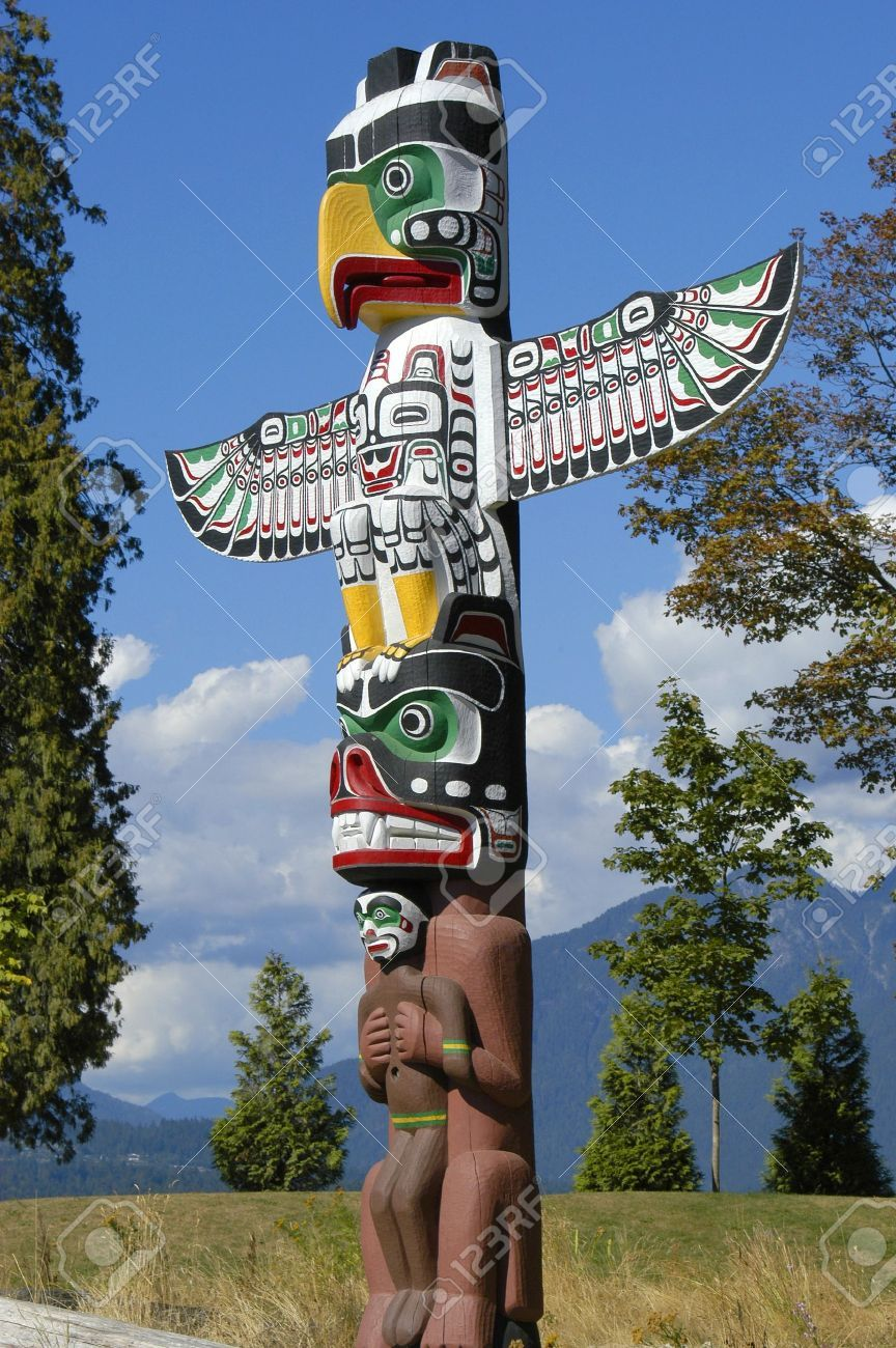 8527385 a totem pole found in vancouver canada stock photo jpg