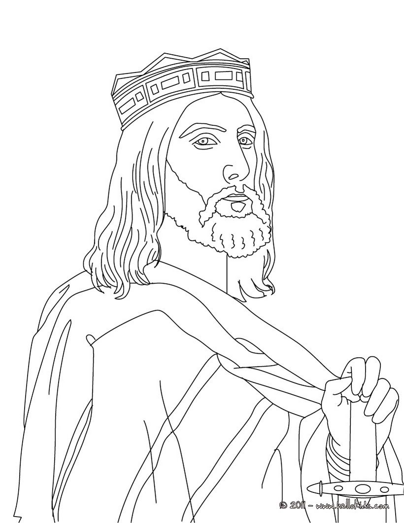 Charlemagne coloring page of frnace coloring page french kings and queens coloring pages