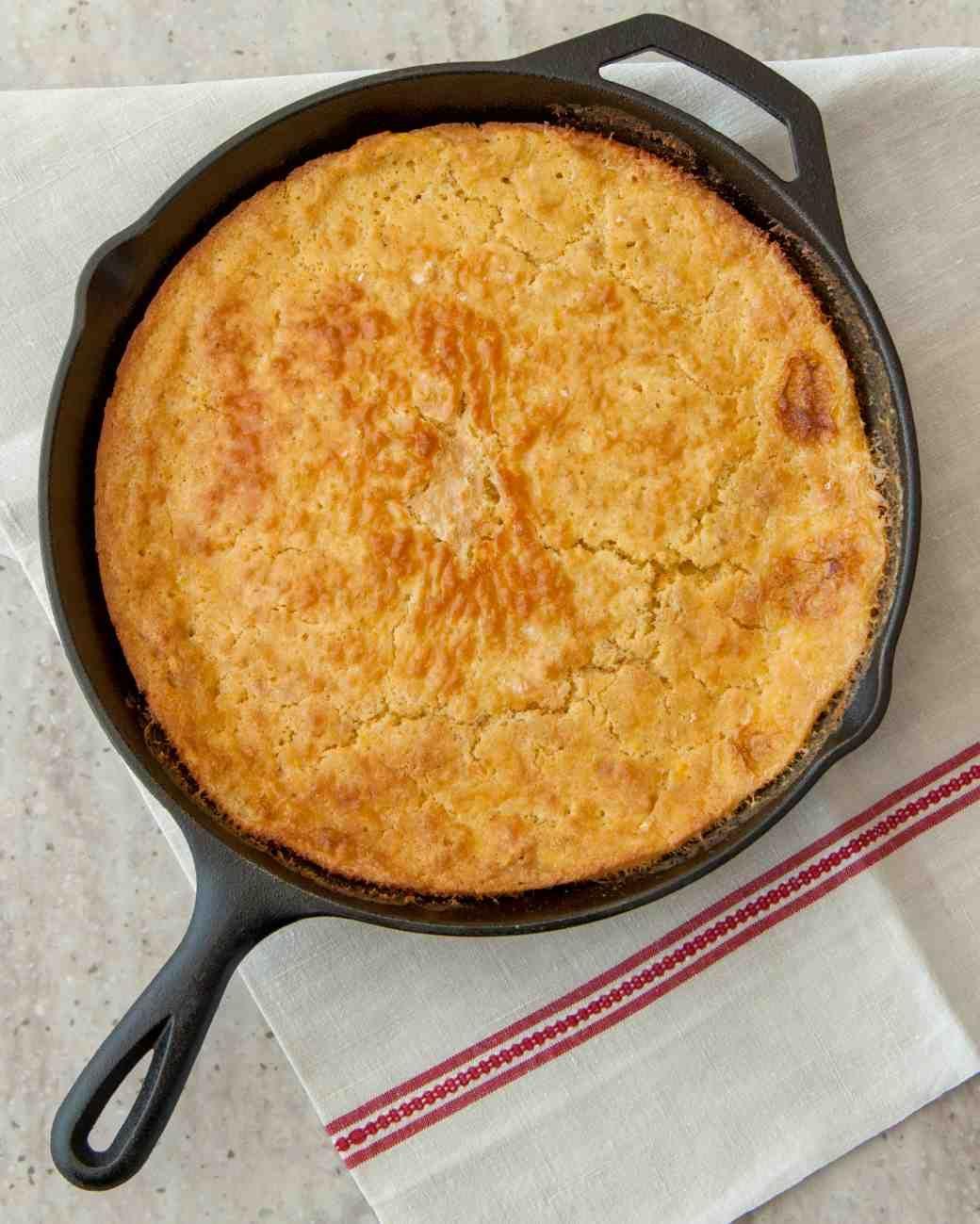 Custard-Filled Cornbread Recipe