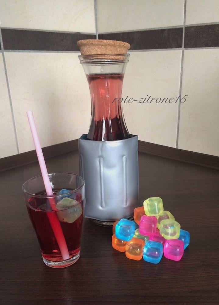 20 Party Eiswürfel Coktail Camping Glas Getränk Eis Würfel - küche bei ebay
