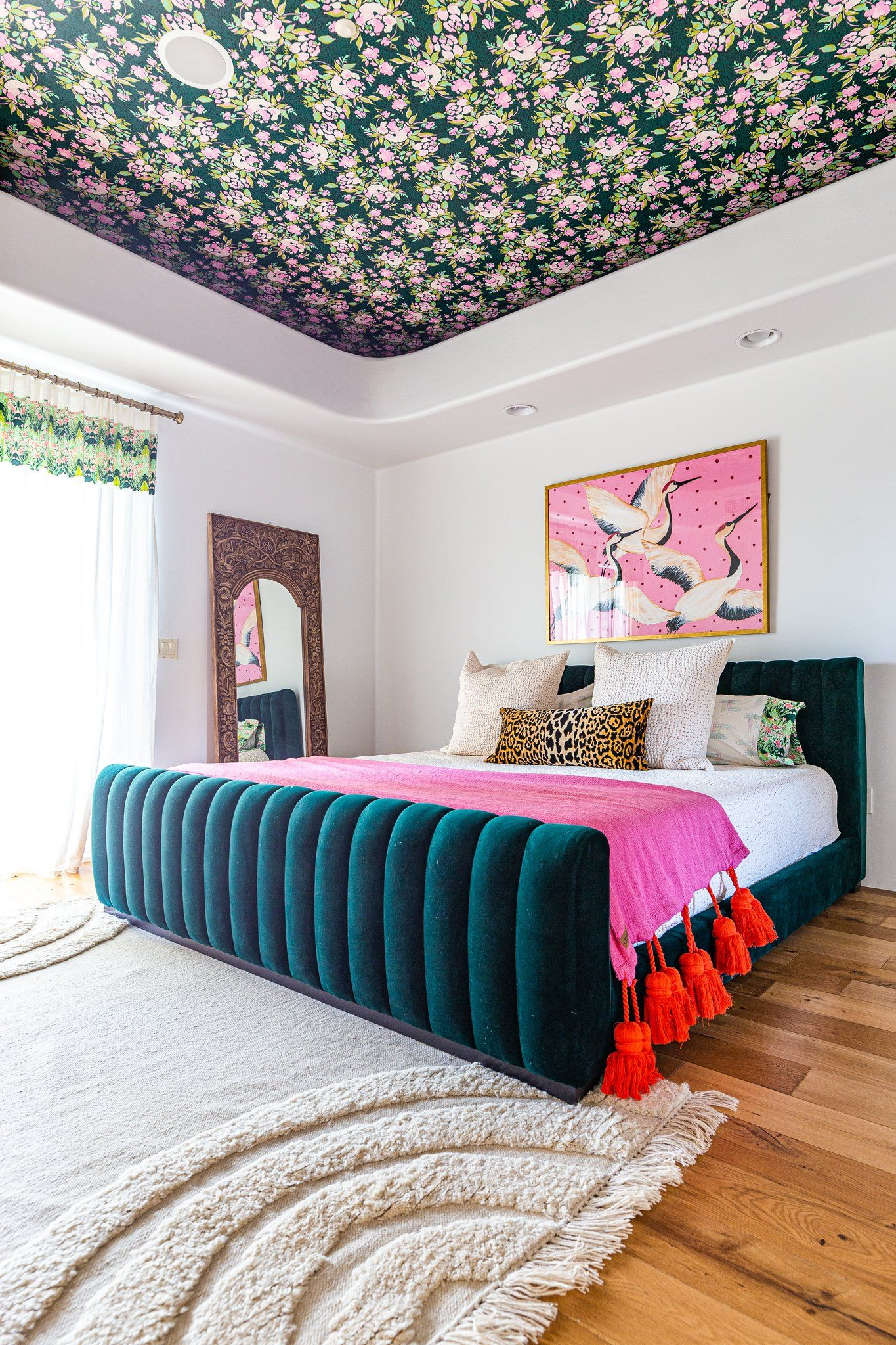 One Room Challenge Week Three Modern Maximalist Master Bedroom Home Decor Bedroom Home House Interior