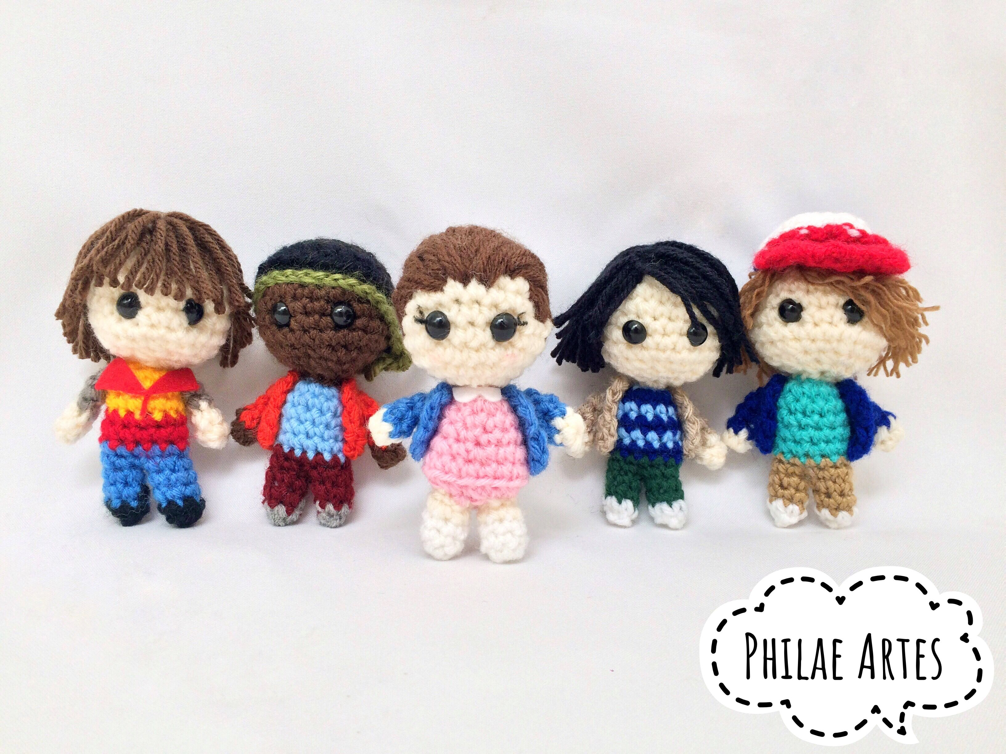 Free Naruto Amigurumi Pattern : Stranger things amigurumi stranger things crocheted toys and