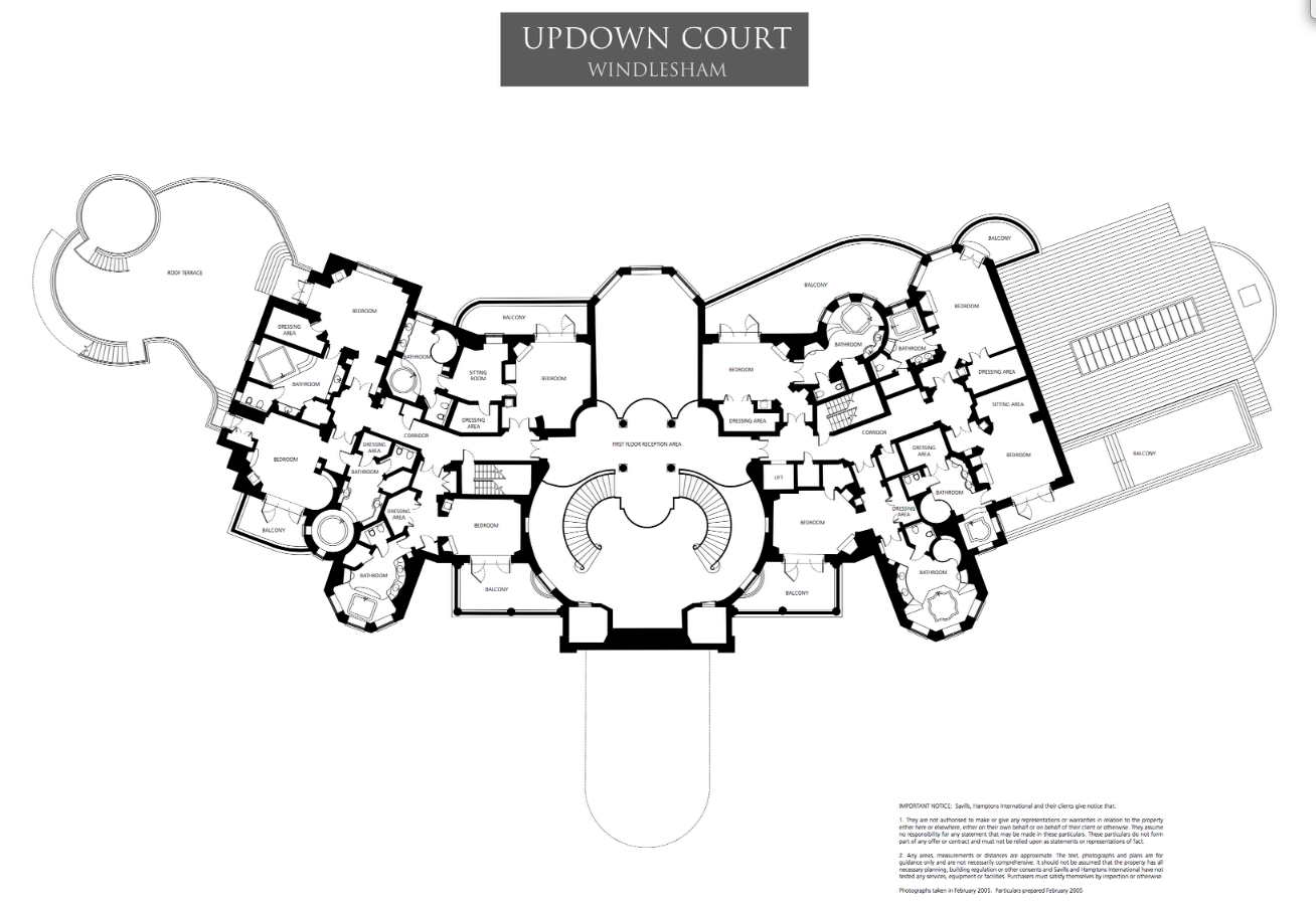 Mega mansion floor plans floor plans to updown court for Mega mansion floor plans