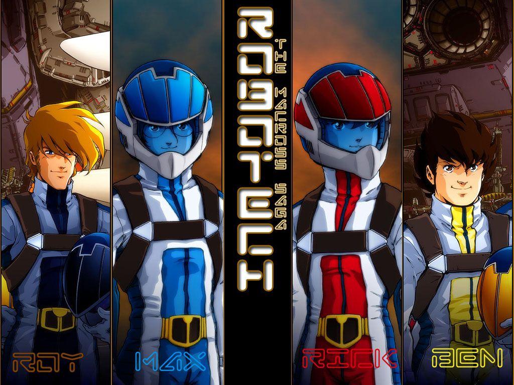 Robotech y macross wallpapers caricaturas infancia y mi - Wallpapers robotech 3d ...