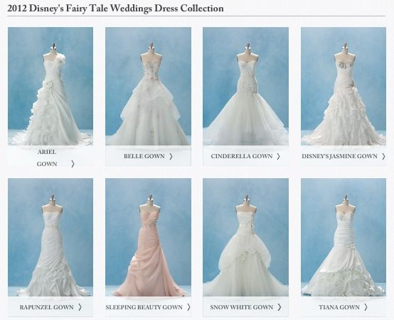 Everybirdfellsilent Disney Wedding Dress Line