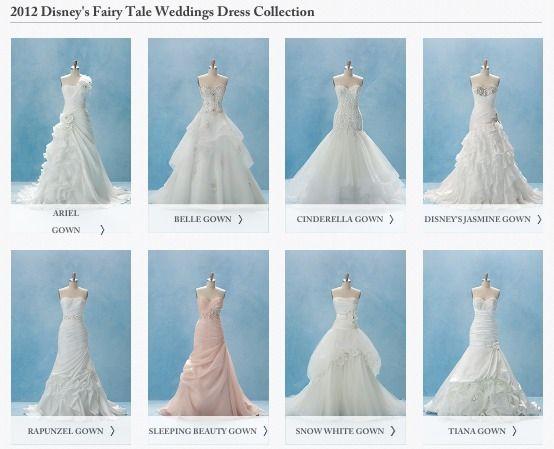 Everybirdfellsilent Disney Wedding Dress Line