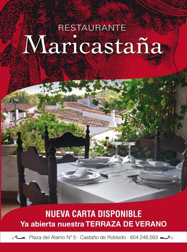 La terraza...#destinodevida #sierradearacena  #castañodelrobledo
