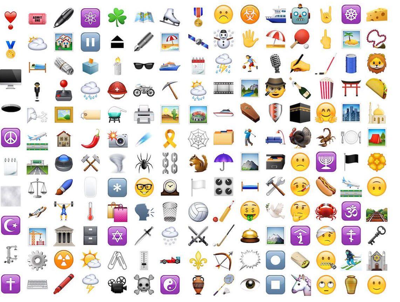 Emojis as Password Authentication Iphone, Emoji