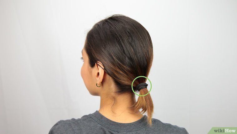 3 Ways To Make A Bun For Short Hair Short Hair Bun Short Hair Ponytail Short Hair Styles