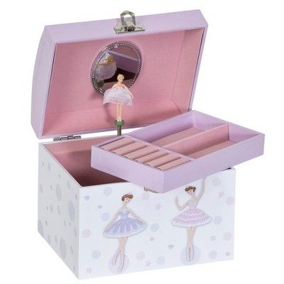 Mele Co Sylvie Girls Musical Ballerina Jewelry Box Pink Products