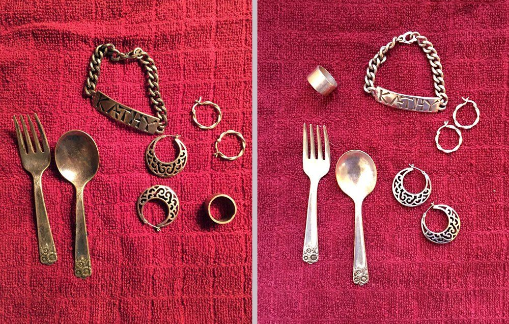 How To Clean Your Tarnished Silver Naturally Cleaning