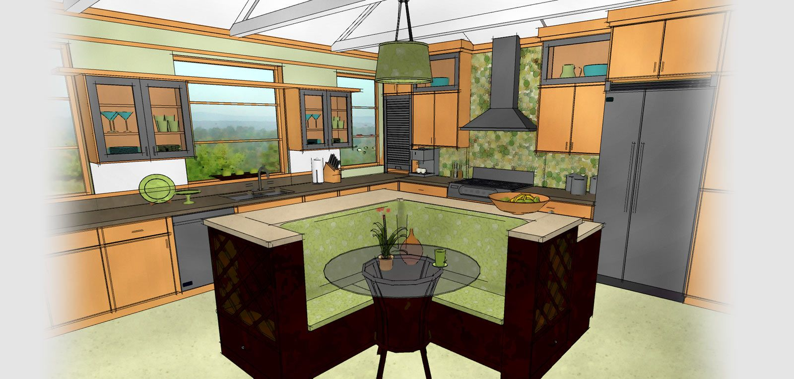Uncategorized Computer Kitchen Design technical drawing of a kitchen generated by home designer ideas cabinet tools software design choose from special best free id