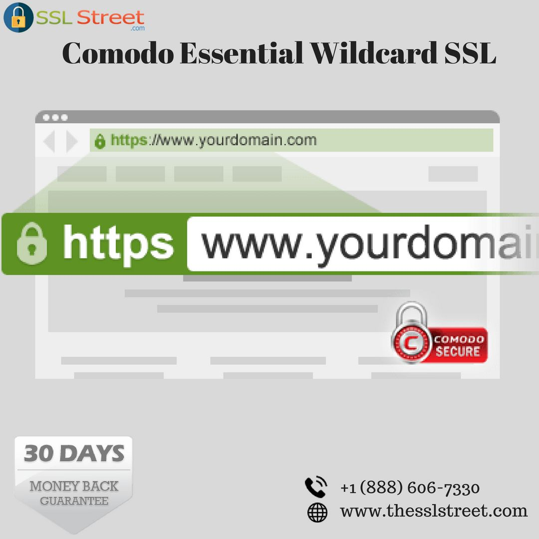 The Essentialssl Wildcard Certificate Could Be A Time And Value