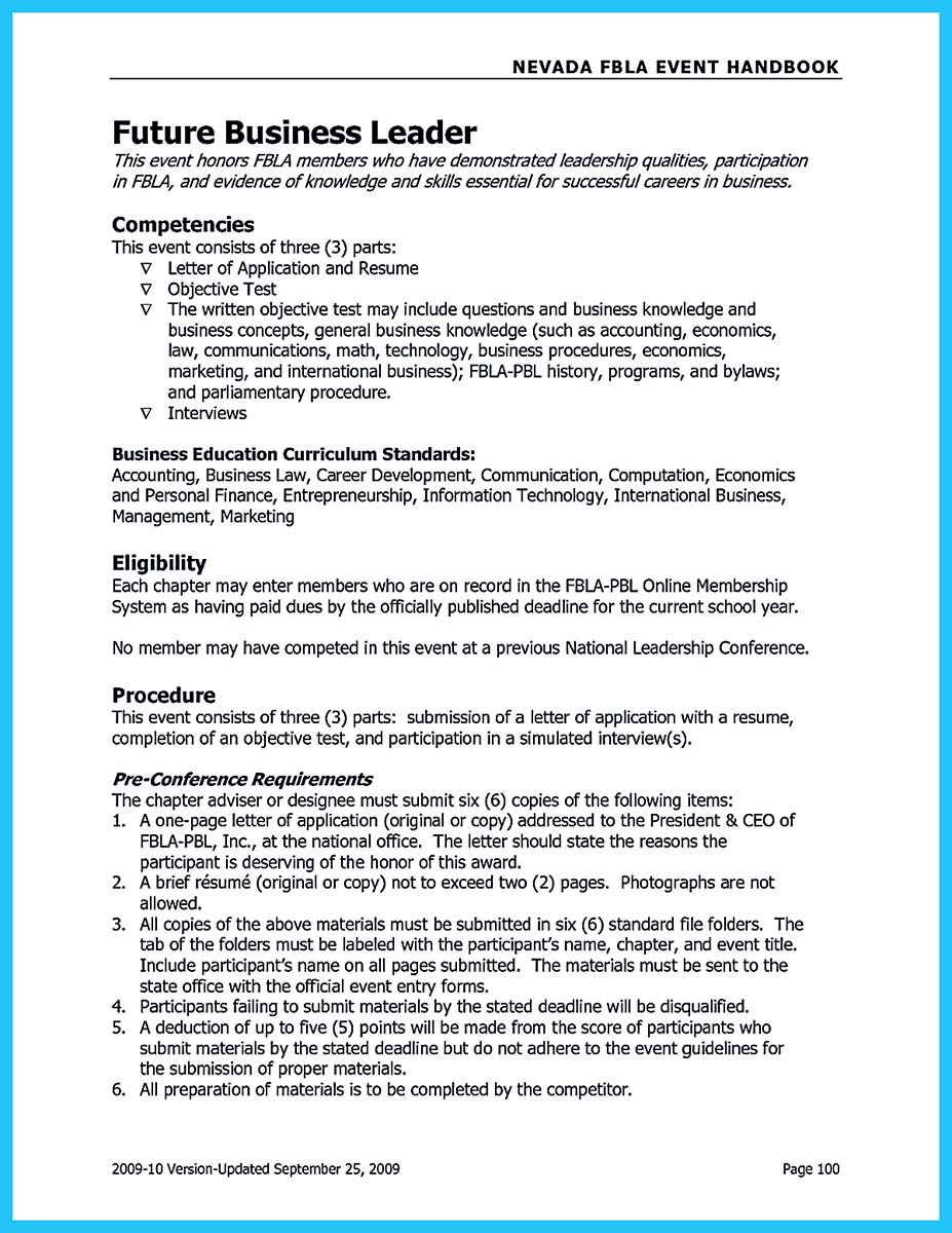 Nice Special Guides For Those Really Desire Best Business School Resume