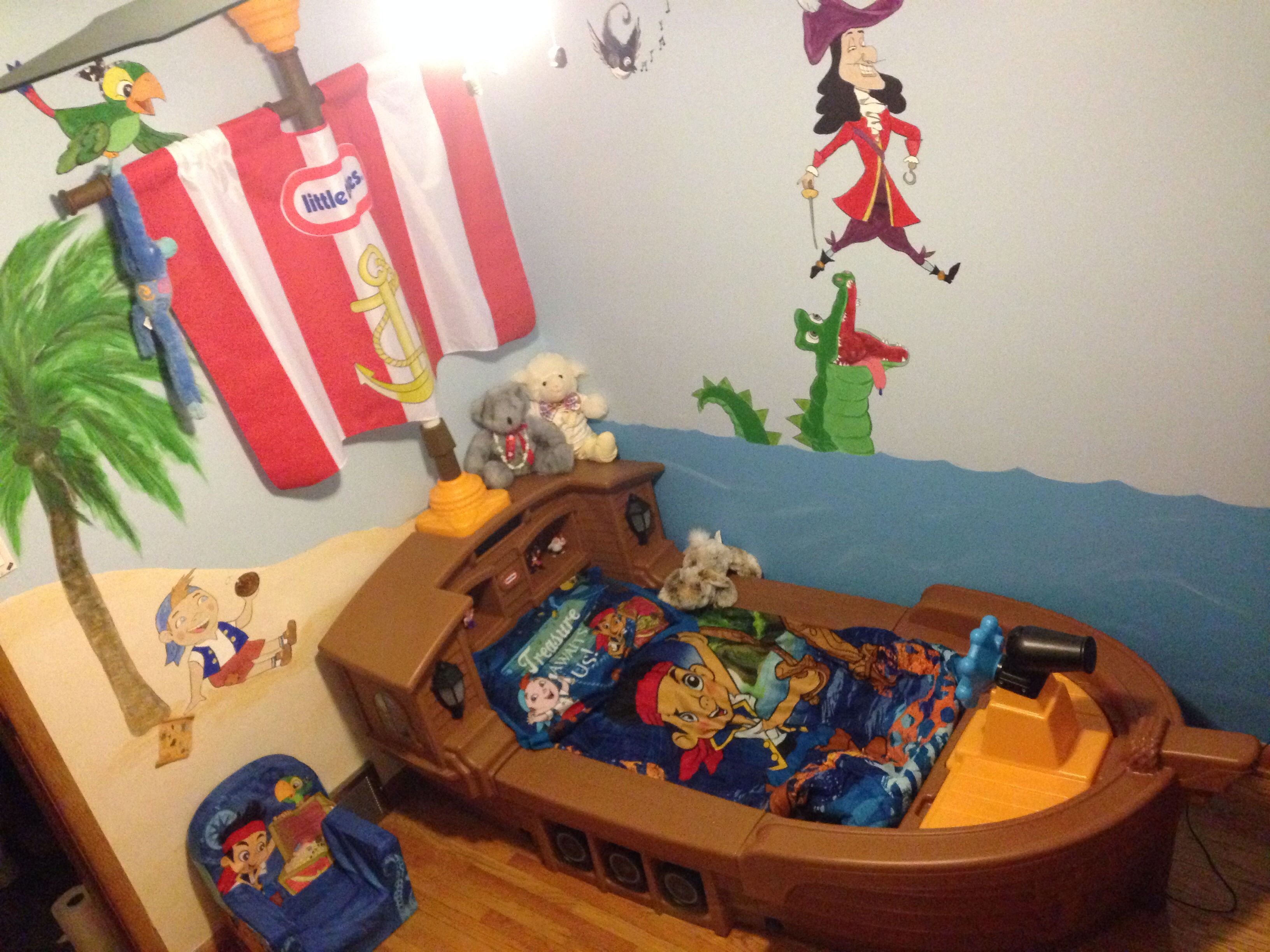 Jake and the never land pirates | Pirate Room | Pinterest | Room ...