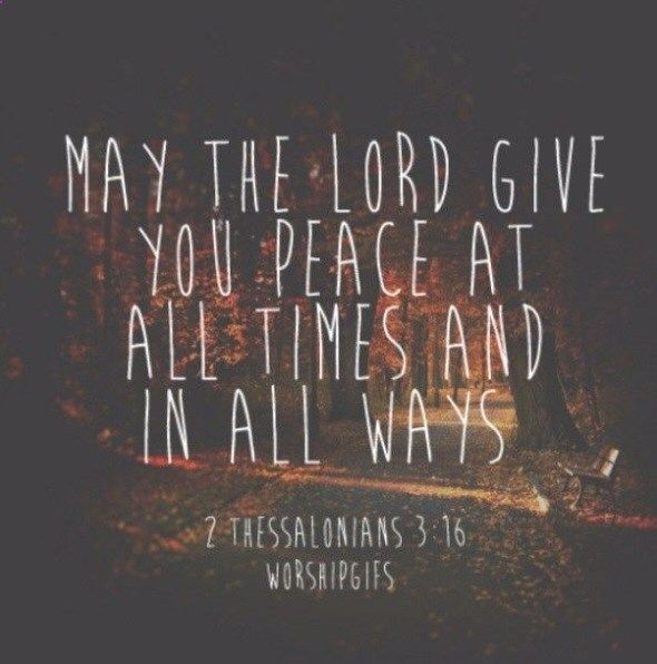 Allow #peace to flow through you