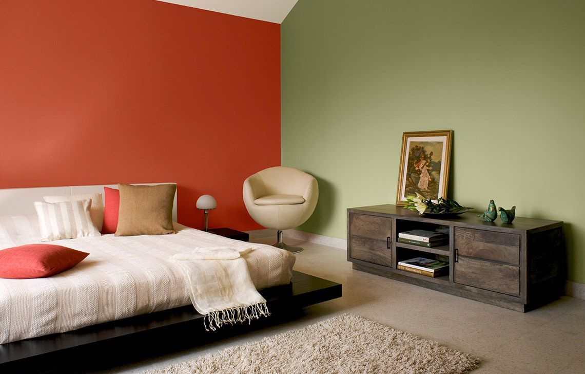 Bedroom Colour Shades Schemes In 2019 Home Wall Painting