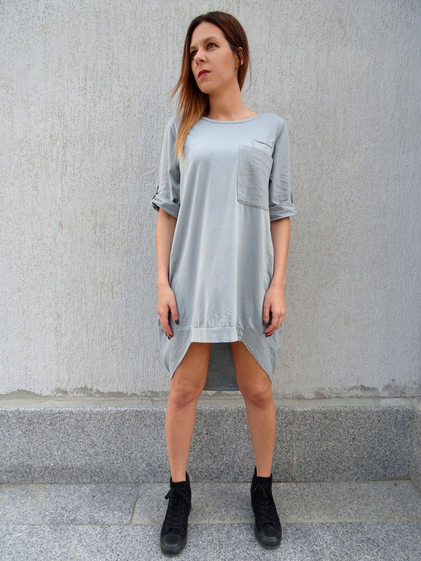 Oversize dresstunic dresswomens dressplus size dresscotton dress