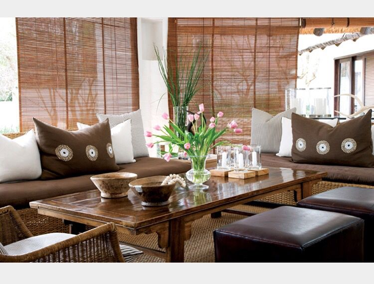 African Style Living Room