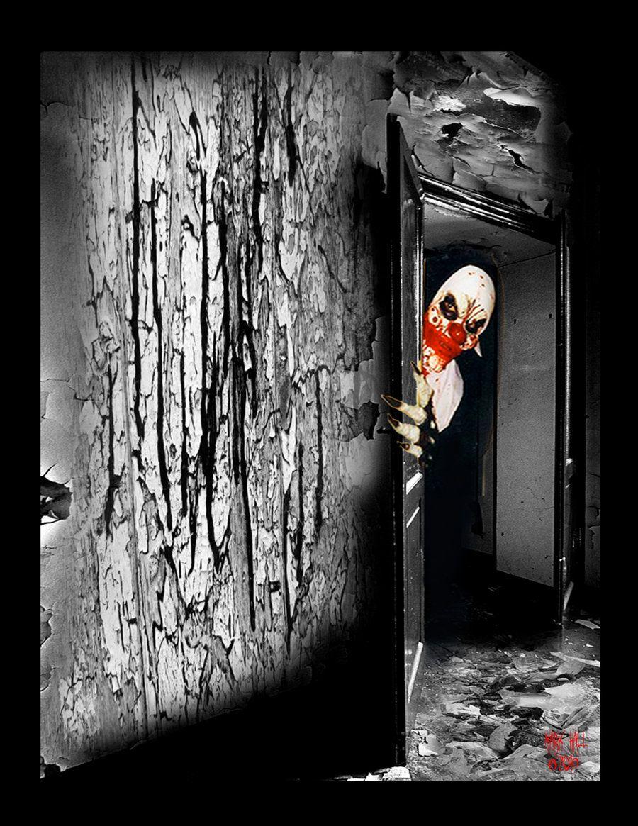 clown! Creepy as hell!