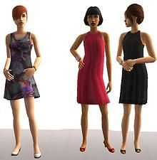 Mod The Sims - Teen Dresses Collection - Part 2