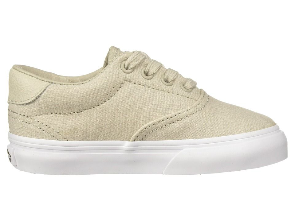 Vans Kids Era 59 (Toddler) Boy s Shoes (Suiting) Silver Lining True White a84272cae