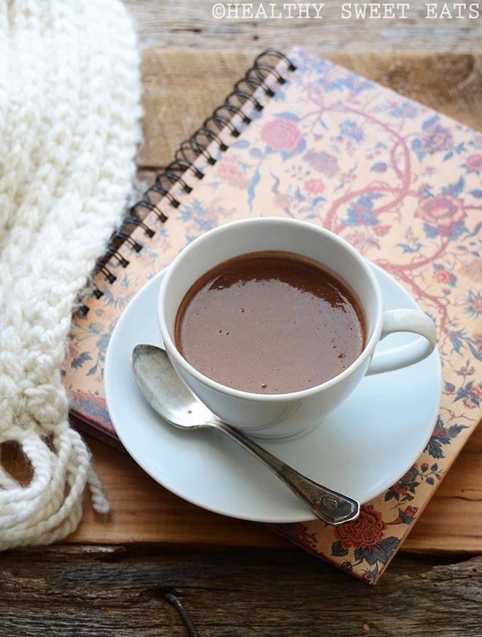 Protein-Packed Thick and Creamy Hot Chocolate Recipe | Healthy Sweet Eats