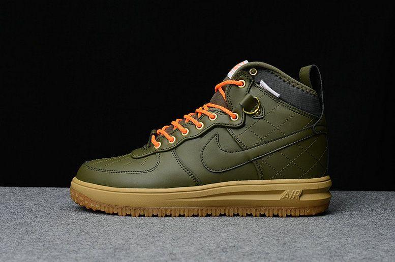 Nike Air Force 1 AF1 Platypus Army