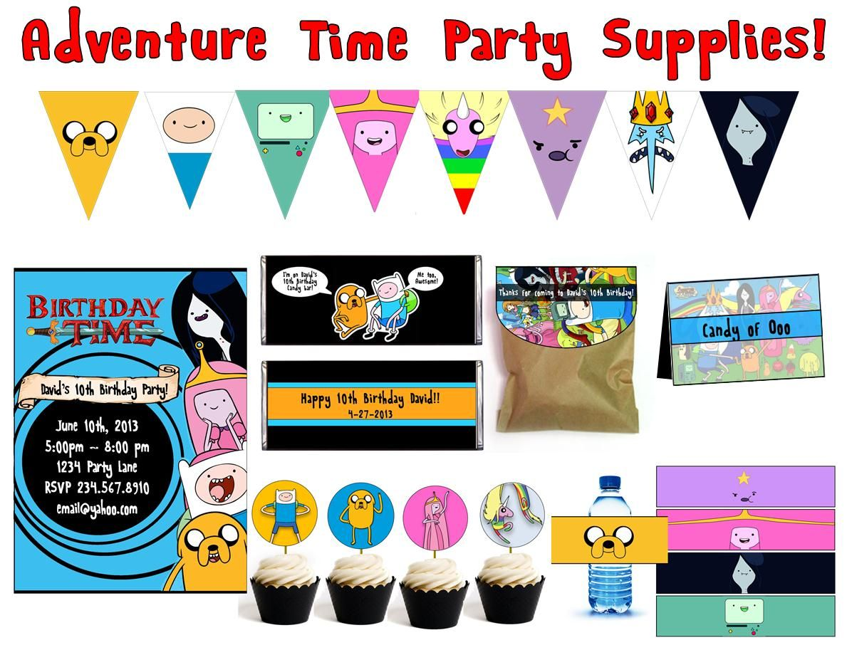 ideas about Adventure Time Birthday Adventure