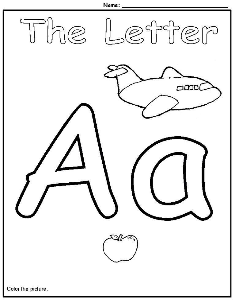 50++ Letter a worksheets preschool trends