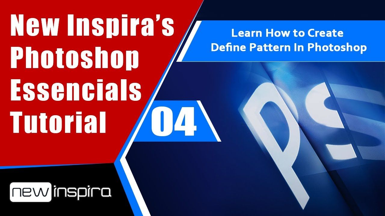 Learning Photoshop How To Create Define Pattern In Photoshop Newinspira Graphic
