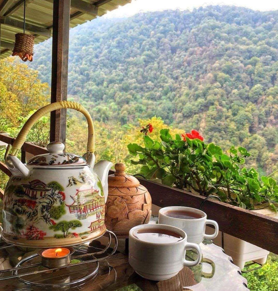 самый фото кофе на даче вам