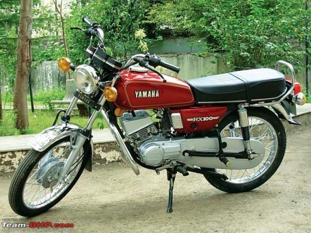 Yamaha Rx 100 With Images Yamaha Rx100 Yamaha Motorbikes Yamaha