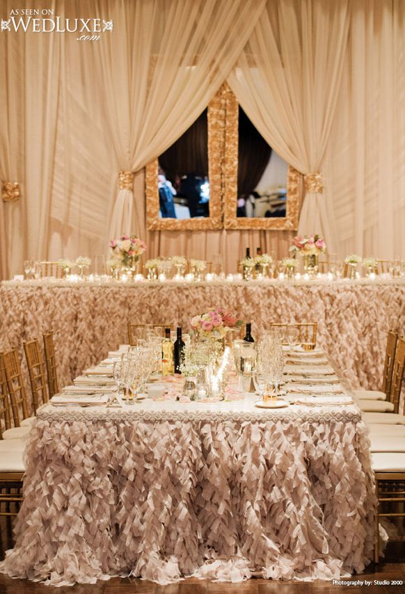 white and gold wedding reception | spress, Author at Weddings ...