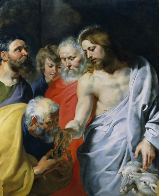 Christ's Charge to Peter Peter Paul Rubens 1616