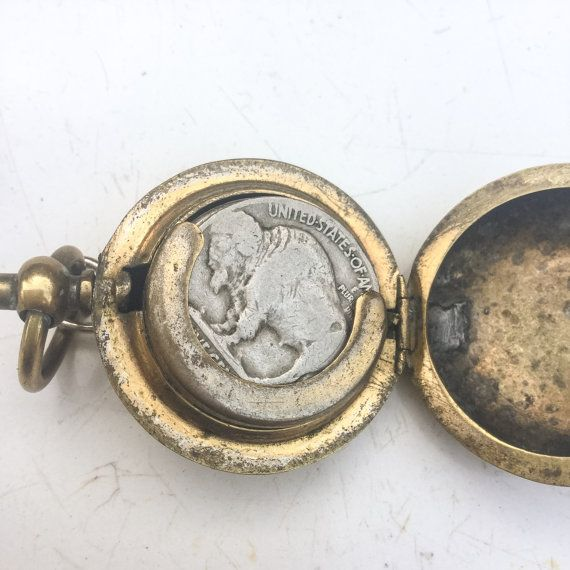 Antique coin holder fob pendant chatelaine case pocket watch antique coin holder fob pendant chatelaine case pocket watch engraved box aloadofball Choice Image