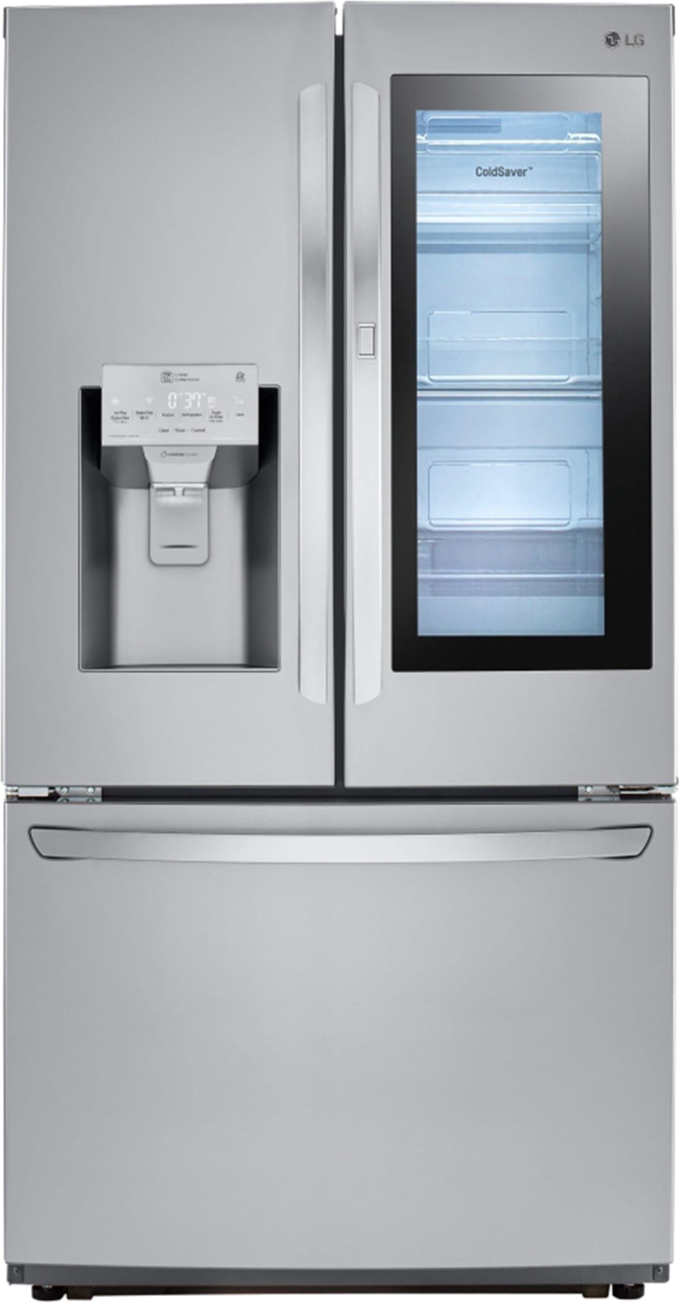 Lg Lfxs26596s Lg French Door Refrigerator Counter Depth French Door Refrigerator French Doors